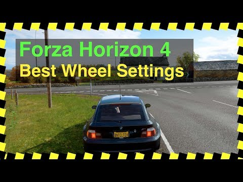 Forza Horizon 4 – Best Wheel Settings (Logitech G29) – Burnt Clutch