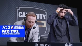 MLG Pro Tip Powered by GEICO: It's What You Do - How To Handle Pressure