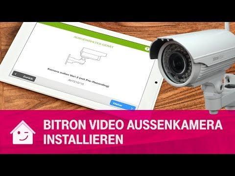 BitronVideo Außenkamera AV7210/10 installieren | Telekom Magenta SmartHome