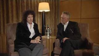 Brian May and Roger Taylor interview BBC Nortwest Tonight NWT Queen Band Ranvir Singh Rockyou