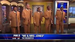 The Dramatics on Fox News 2 WJBK March 8, 2015