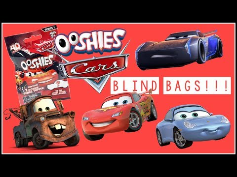 Disney Pixar Cars 3 Toy Opening | Cars Blind Bags | Cars 3 Ooshies!!