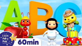 Learn ABC Phonics -ABC Song | +More Nursery Rhymes & Kids Songs | ABCs and 123s | Little Baby Bum