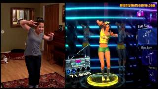 """BREAK YOUR HEART"" Dance Central DLC Hard Gameplay 100% - MightyMeCreative"