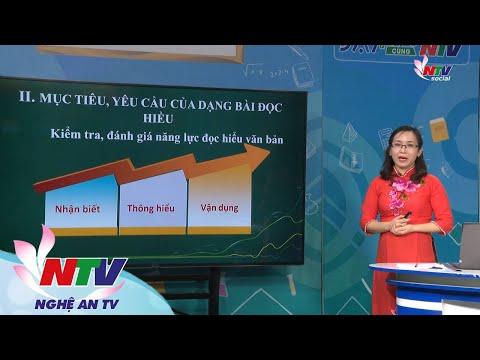MÔN NGỮ VĂN 12- ÔN TẬP: HƯỚNG DẪN CÁCH LÀM DẠNG BÀI ĐỌC HIỂU - NGÀY 16/3/2020 (Dạy học trên truyền hình NTV)