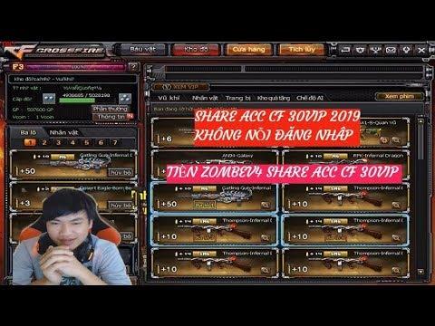 SHARE ACC CF VIP 30VIP X6TSV 6NONG VIP 2019 - HACK VIP CF - thtip com