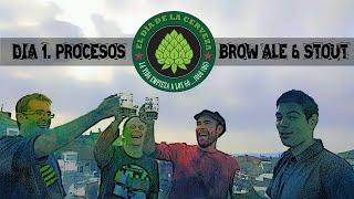Cómo Hacer Cerveza Artesanal En Casa. Brown Ale Y Stout  DIA 1.