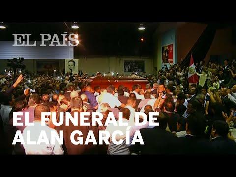 Dolor y protestas en el FUNERAL de ALAN GARCÍA | Internacional