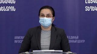 MFA Spokesperson Anna Naghdalyan's briefing  in the Armenian Unified Infocenter