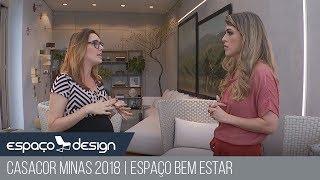 Laura Santos CASACOR Minas 2018 | Espaço Bem Estar