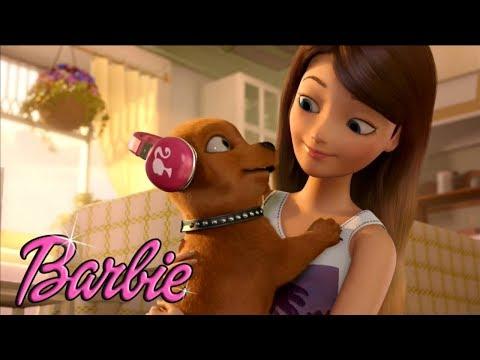 Мультик Барби и щенки в поисках сокровищ. Как назвать щенков?!