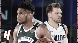 Milwaukee Bucks Vs Dallas Mavericks - Full Game Highlights | August 8, 2020 | 2019-20 NBA Season