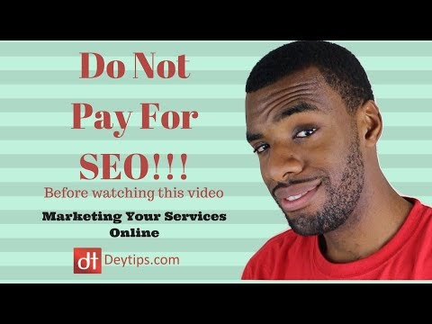 Do NOT pay for SEO services before watching this video