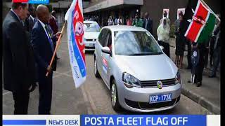Postal Cooperation Services flag off new fleet of vehicles