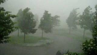 preview picture of video 'Unwetter in Mering bei Augsburg am 26.05.2009'