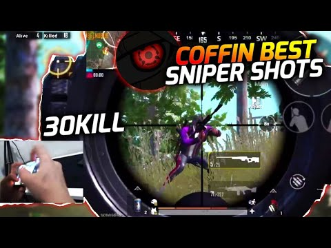 COFFIN BEST SNIPER SHOTS 30 KILL GAMEPLAY HANDCAM | PUBG MOBILE |