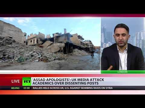 'Assad apologists': UK media attack academics over dissenting posts