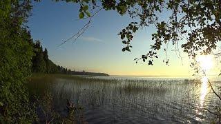 Pilgrimage to Russia. Day 8. Восход солнца над Валдайским озером