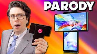 "LG Wing PARODY - ""T Series Phone"""