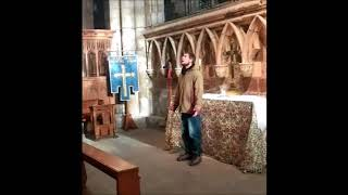 How I Nearly Got Kicked Out Of Selby Abbey #Gregorian Chant Music | Anam Cara Music |