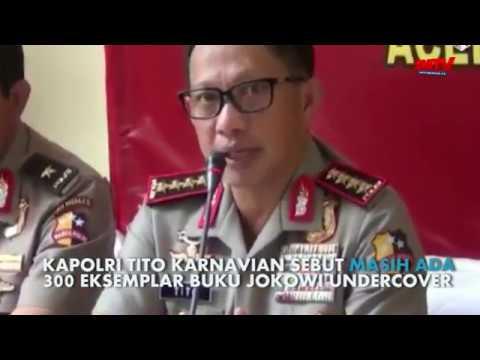 Jokowi Undercover Masih Beredar, Kapolri Himbau Untuk Serahkan Kepolisian