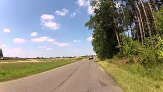 preview picture of video 'TDM 850 Trasa Lutomiersk-Kazimierz-Puczniew-Poddębice-Uniejów-Ostrowsko'