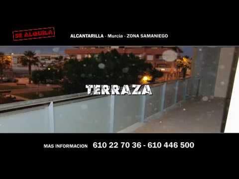 SE ALQUILA PISO en ALCANTARILLA Murcia ZONA SAMANIEGO Mas informacion en 610 22 70 36 o 610 446 500