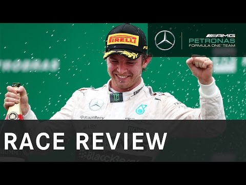 Nico Rosberg on F1 Brazilian Grand Prix win