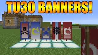 ★Minecraft Xbox 360 + PS3: Title Update 30 Banners - Expected Update Features Full Guide Tutorial★