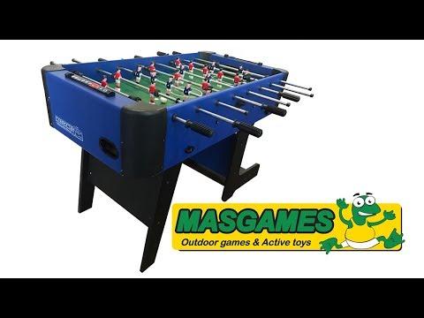 Futbolín Plegable Masgames City Blue