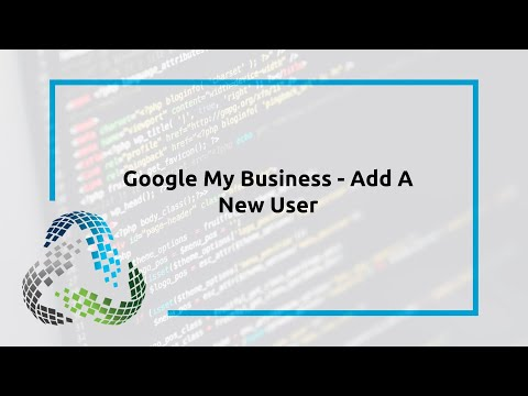Google My Business – Add A New User