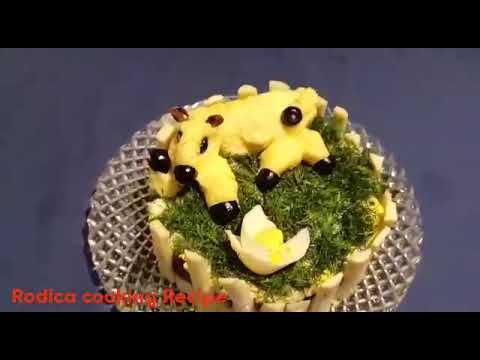 the most delicious and beautiful salad Recipe by Rodica Cooking Recipe