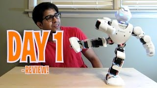 ALPHA 1S - Day 1: Humanoid Robot Review - Intelligent Robot like Cozmo!