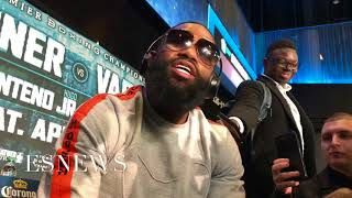 MUST WATCH Adrien Broner right after presser goes off on ceo of Mayweather promotion