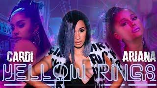 Bodak Yellow X 7 Rings [mashup]   Cardi B & Ariana Grande