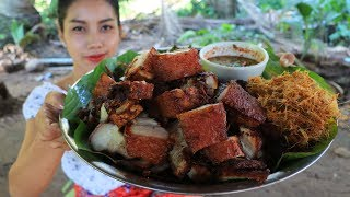Yummy cooking Pork crispy recipe - Natural life tv cooking