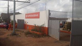 Depósito de gás de cozinha é arrombado em Guarabira e bandidos levam caminhão carregado de botijões