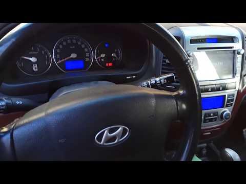 Hyundai Santa Fe 2 не заводится двигатель, не крутится стартер.