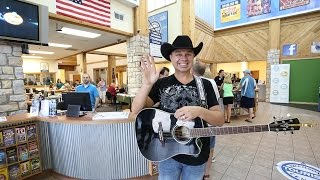Clay Cooper performs at Branson Tourism Center  Video
