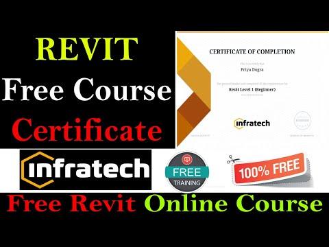 Revit Architecture Online Course With Free Certificate - Revit ...