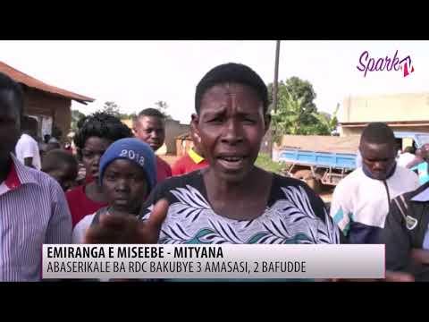Abaserikale ba RDC basse abantu basatu e Mityana