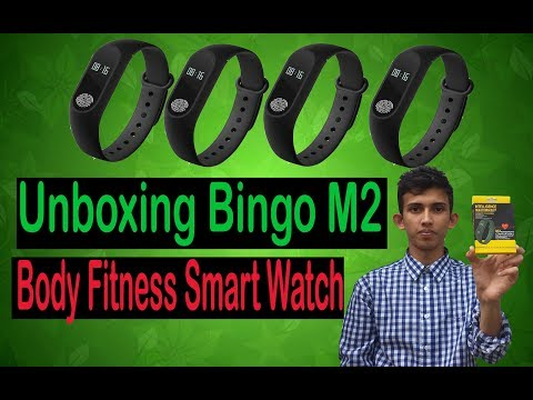Bingo M2 || Fitness Smart Watch || Unboxing || Full Review ||