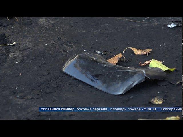 Два автомобиля сгорели в 9 мкр