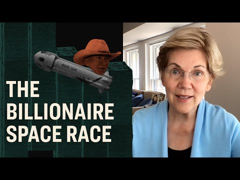 Video thumbnail for Elizabeth Warren on the Billionaire Space Race