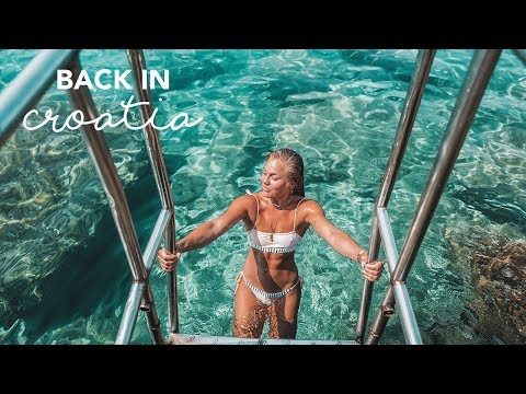 Going to a nudist beach in Hvar | TRAVEL VLOG