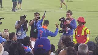 Riyan Parag Icc Under 19 Indian Cricket Team doing Bhangra after Winning ICC 2018 World Cup