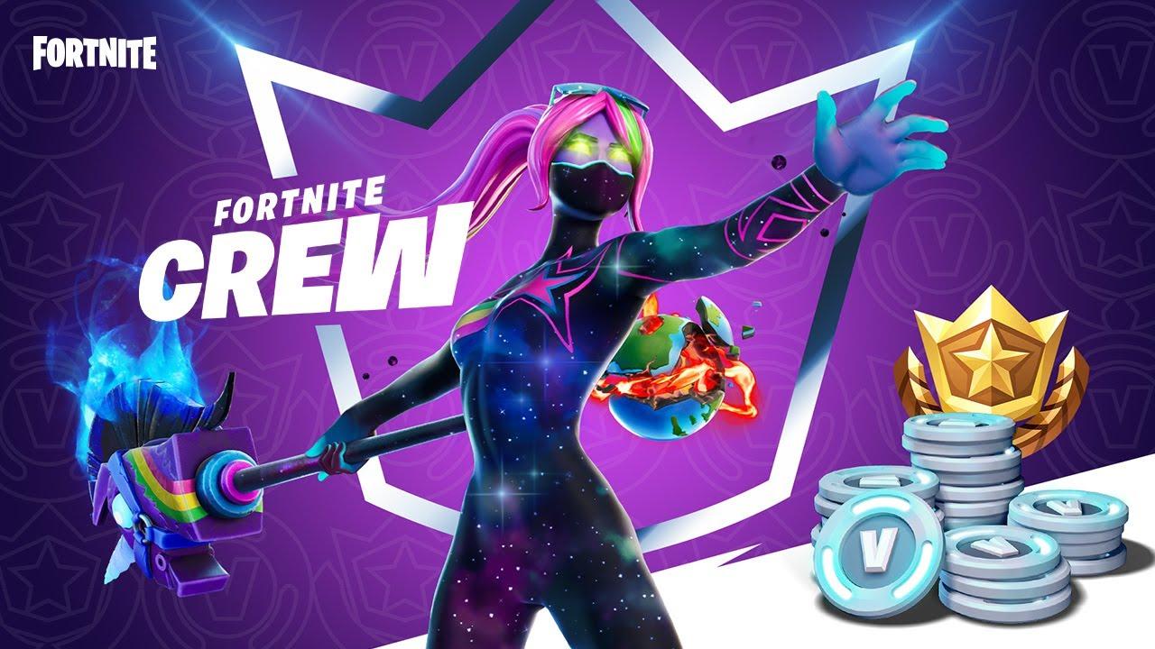 Fortnite Crew e' il nuovo abbonamento di Fortnite per 11.99