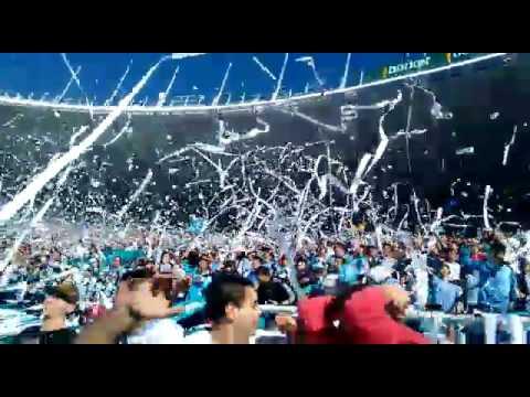 """""""Recibimiento BELGRANO vs Talleres copa BBVA"""" Barra: Los Piratas Celestes de Alberdi • Club: Belgrano"""