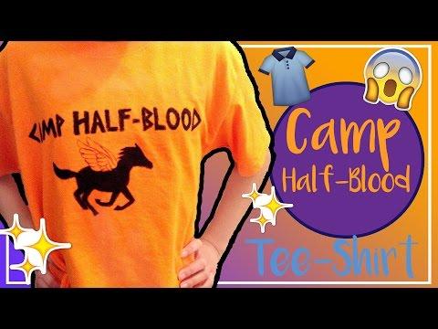 DIY Camp Half Blood T shirt|ThoseDamFangirls|Bianca Tahno