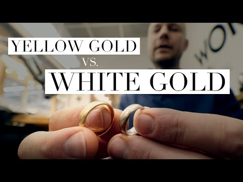 Yellow Gold vs. White Gold, Top 5 Differences
